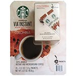 Starbucks Via Instant Med Roast Colombia Coffee 星巴客即浴咖啡粉 (26包)