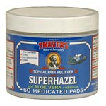 Thayers Medicated Superhazel Pads 天然藥效收斂化�蛓� (60片)