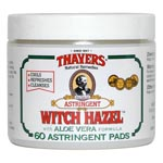 Thayers Original Witch Hazel w/Aloe Astringent Pads 花草收斂化�蛓� (60片