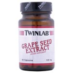 Twinlab Grape Seed Extract 葡萄子提煉劑 100mg (60粒)