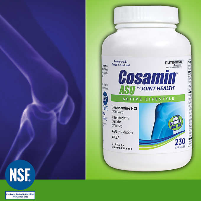 Cosamin ASU for Joint Health, 230 Capsules 軟骨質保健膠囊(230顆)
