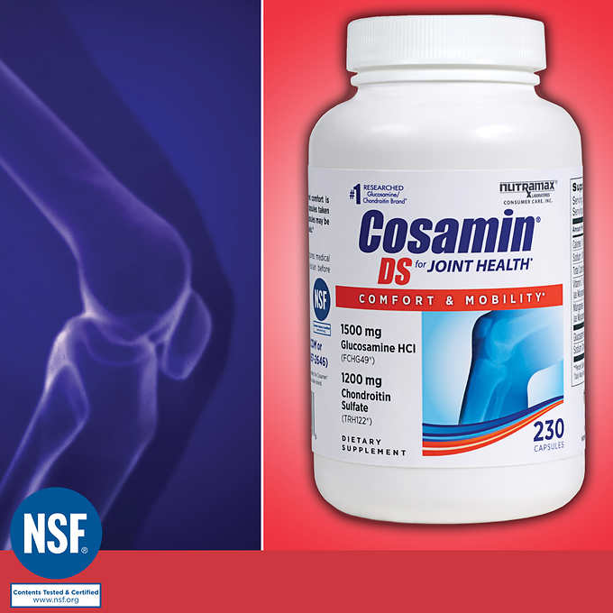 Cosamin DS for Joint Health, 230 Capsules 软骨素 (230顆)