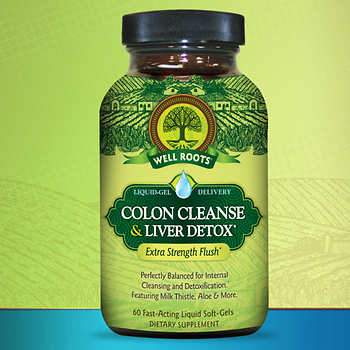 Well Roots Colon Cleanse & Liver Detox, 120 Liquid Softgels 清腸排毒膠囊 (120粒)