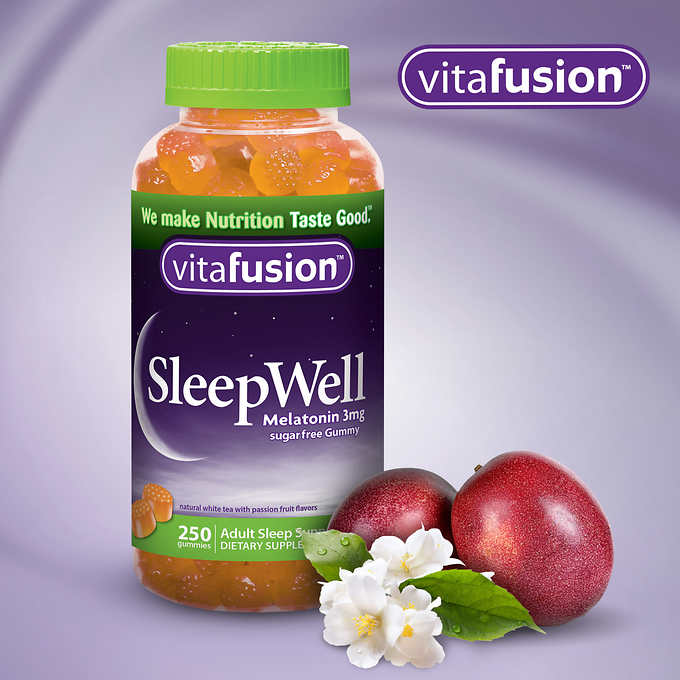 vitafusion SleepWell, 250 Gummies 助睡软糖 (250粒)