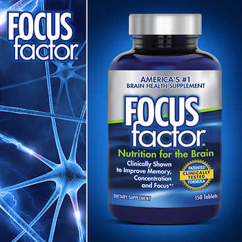FOCUSfactor Dietary Supplement, 150 Tablets 成人健腦補充劑 (150粒)